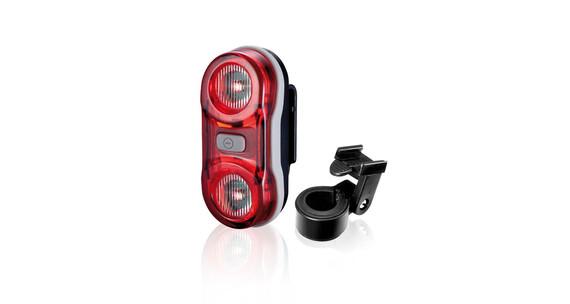 XLC Comp CL-R11 Sicherheitslampe Bianca schwarz/rot